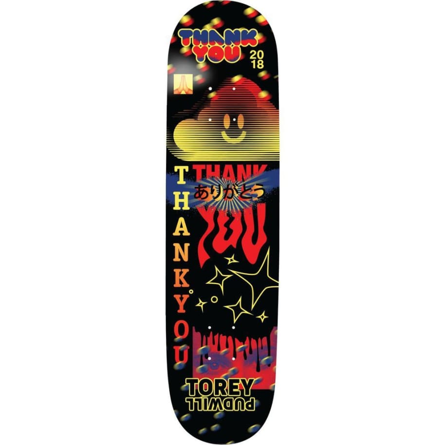 """Thank You - Torey Pudwill Fly Deck (8.25"""") 