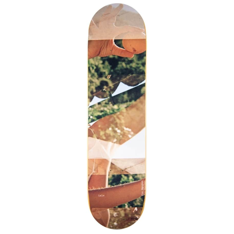 "Isle Skateboards Artist Series Jenna Westra Deck Nguyen 8.125"" | Deck by Isle Skateboards 1"