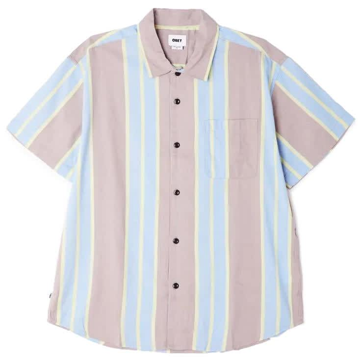 OBEY Fiction Woven Shirt - Hummus Multi | Shirt by OBEY Clothing 1