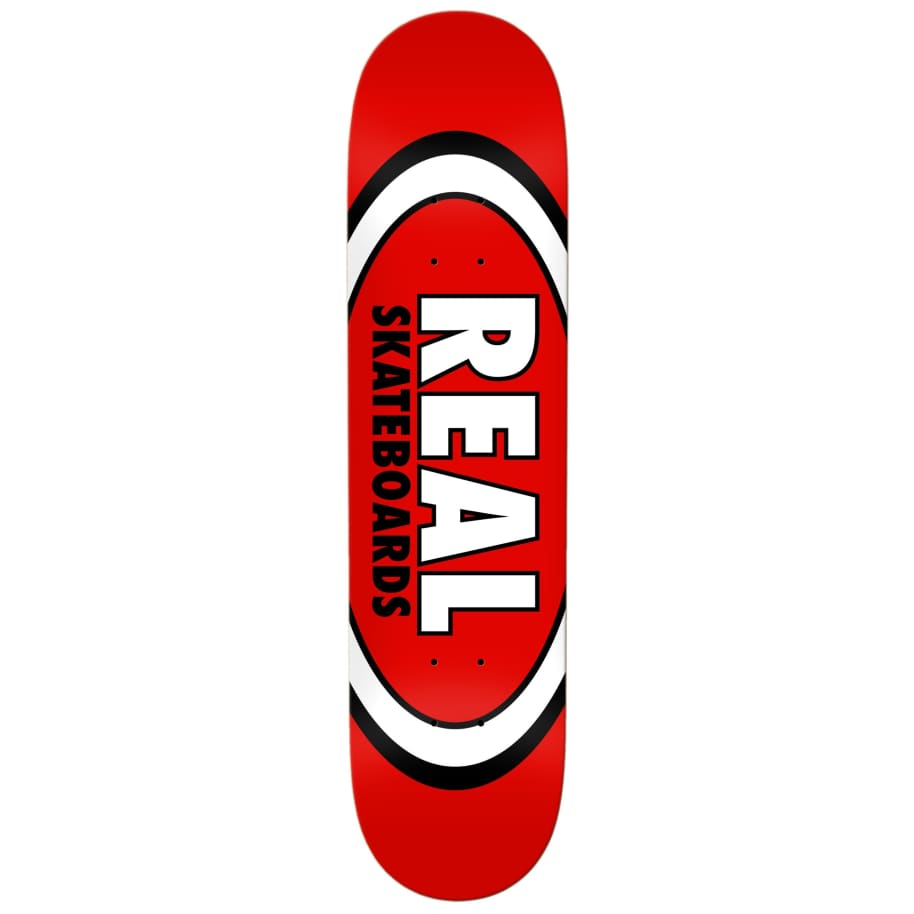 """Real Classic Oval Deck 8.12""""   Deck by Real Skateboards 1"""