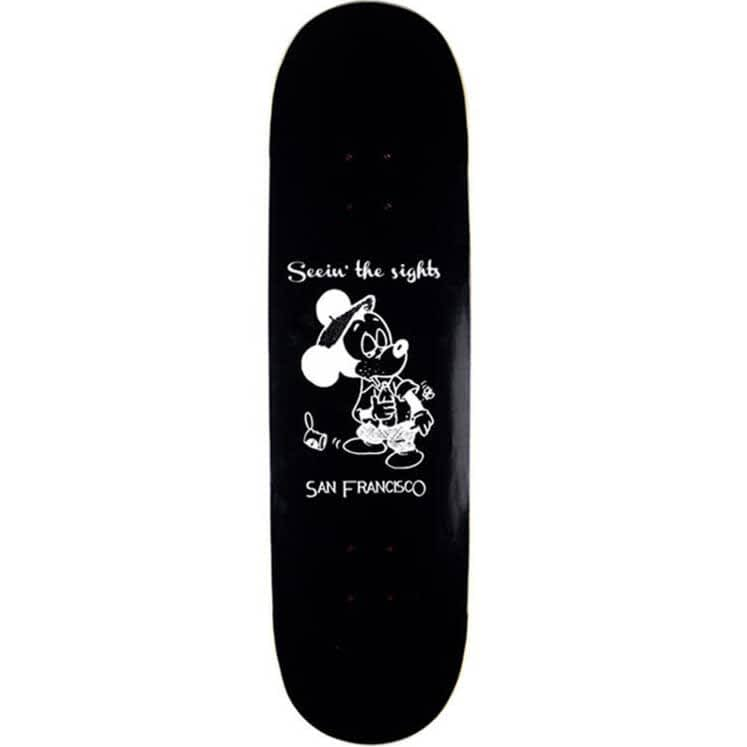 """Snack Skateboards Seein the sights deck - 8.75""""   Deck by Snack 1"""