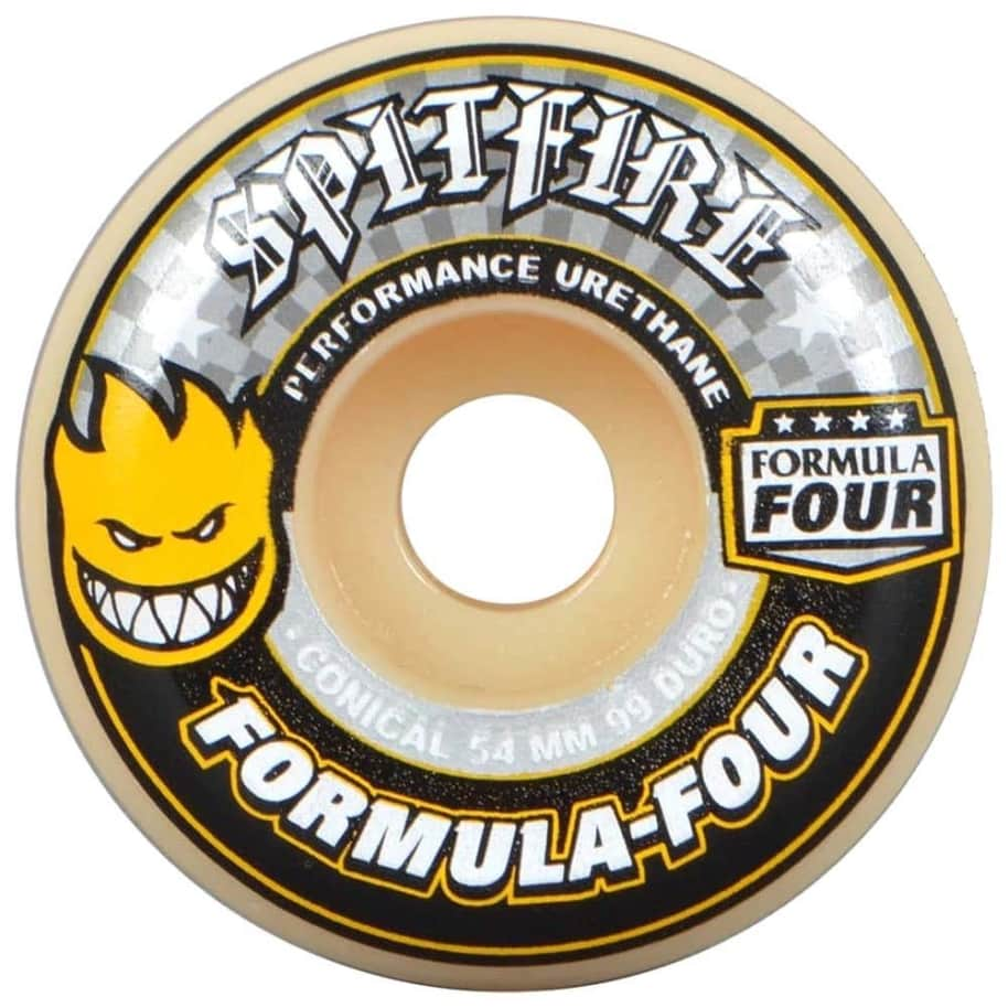 Spitfire Wheels Formula Four Conical 54mm | Wheels by Spitfire Wheels 1