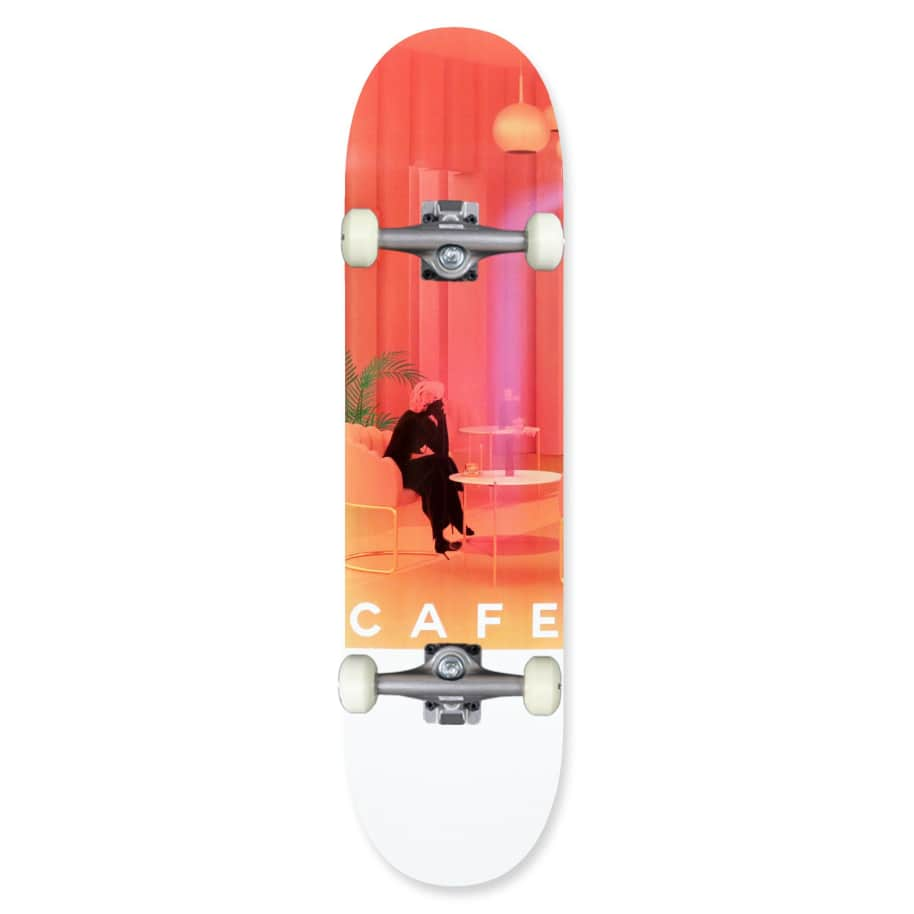 """Skateboard Cafe Unexpected Beauty Complete Skateboard 8"""" 