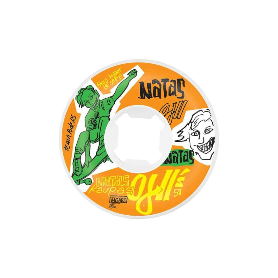 OJs Natas Kaupas OJ2 Original wheels (95A, 58mm) | Wheels by OJ Wheels 1