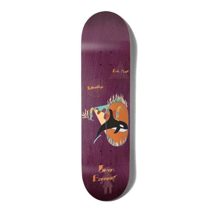 """Girl Deck Bannerot Visualize 8""""   Deck by Girl Skateboards 1"""