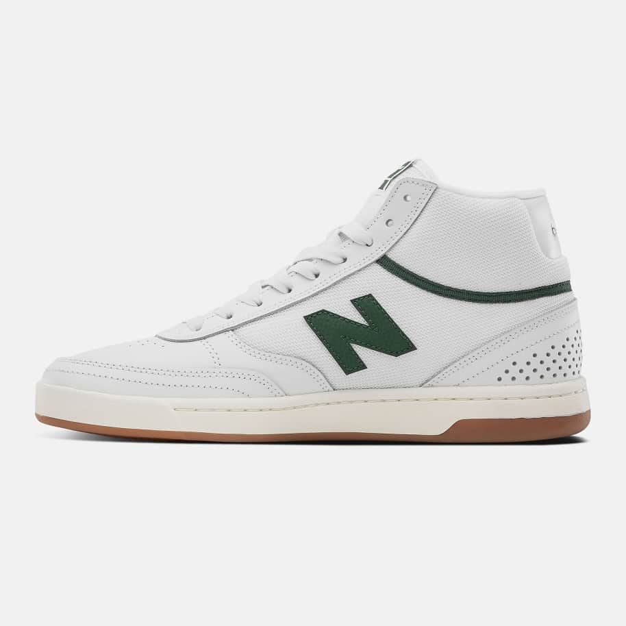 New Balance Numeric 440 High Shoes - White / Green | Shoes by New Balance 3