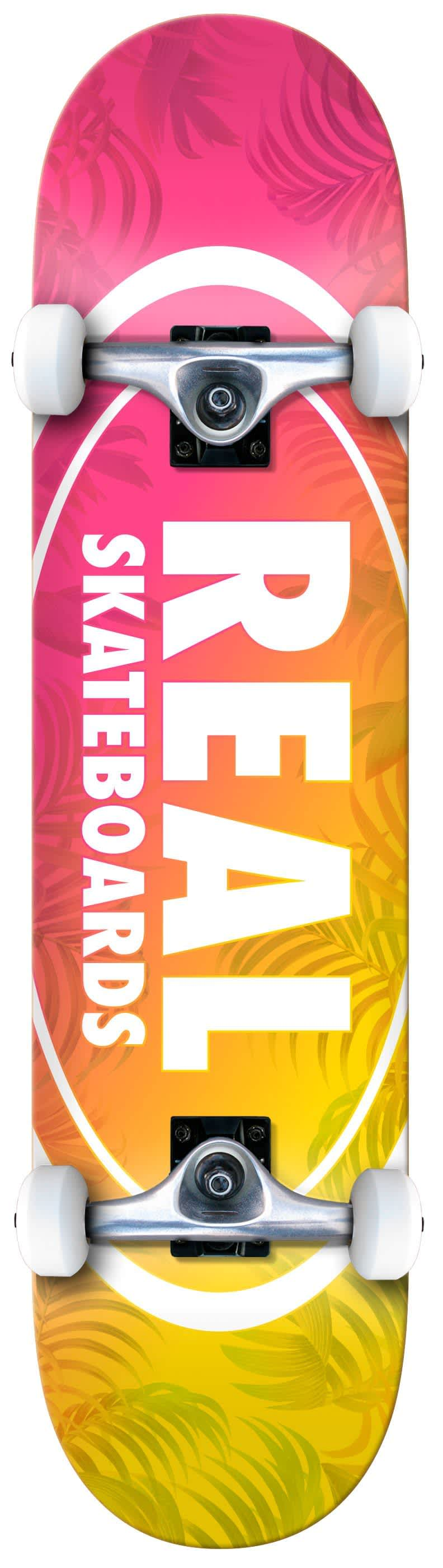 REAL Island Oval Complete 7.5   Complete Skateboard by Real Skateboards 1