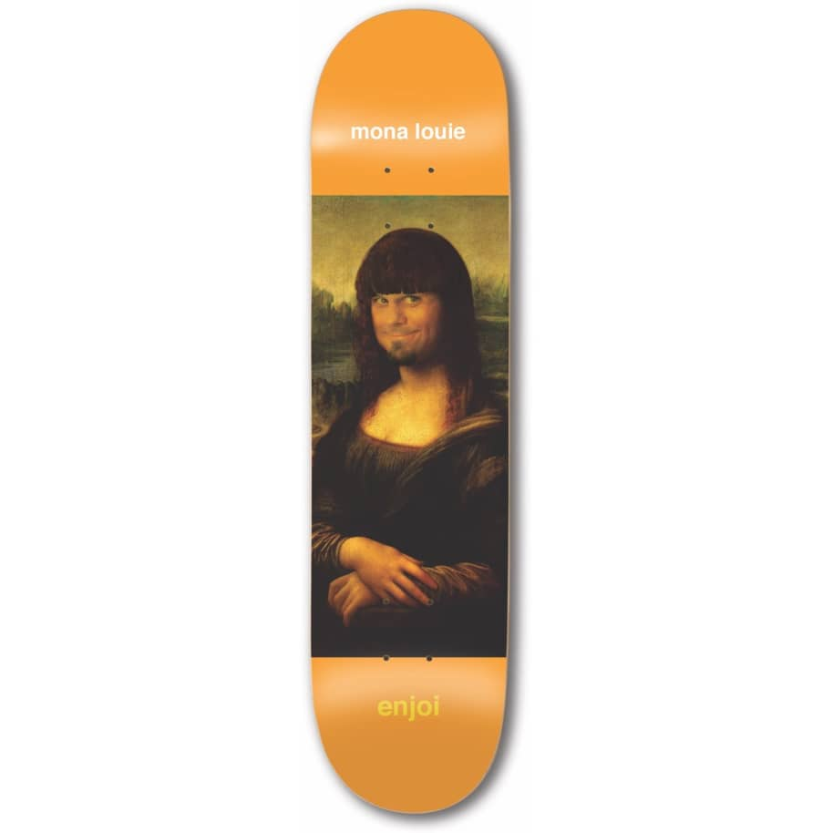 "Enjoi Skateboards - 7.75"" Renaissance Louie Barletta Pro Deck 