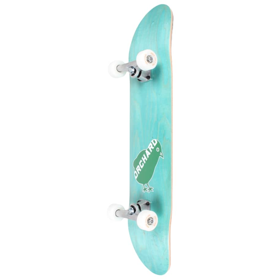 Orchard Green Bird Logo Hybrid Complete 7.8 Cyan (With Free Skate Tool)   Complete Skateboard by Orchard 2