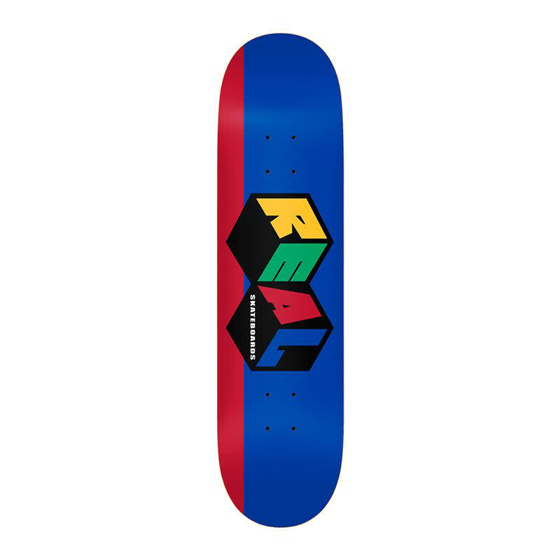Real Team City Blocks Deck | Deck by Real Skateboards 1