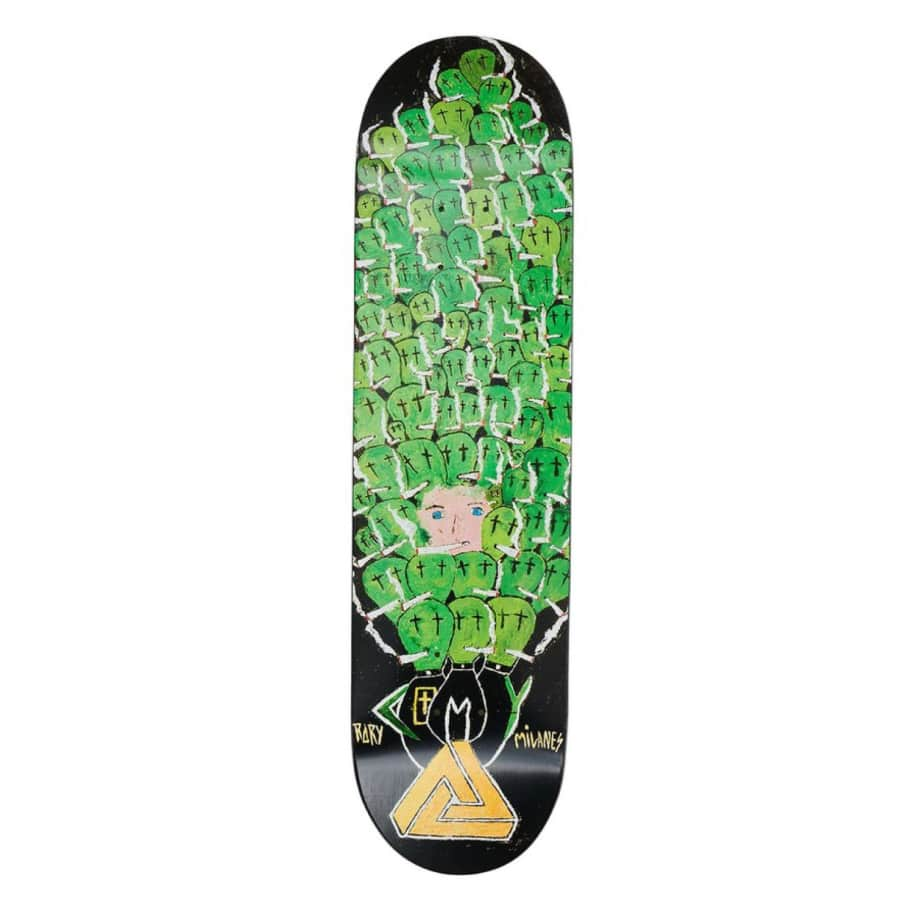 "Palace Skateboards - 8.06"" Rory Milanes S24 Church Pro Deck 