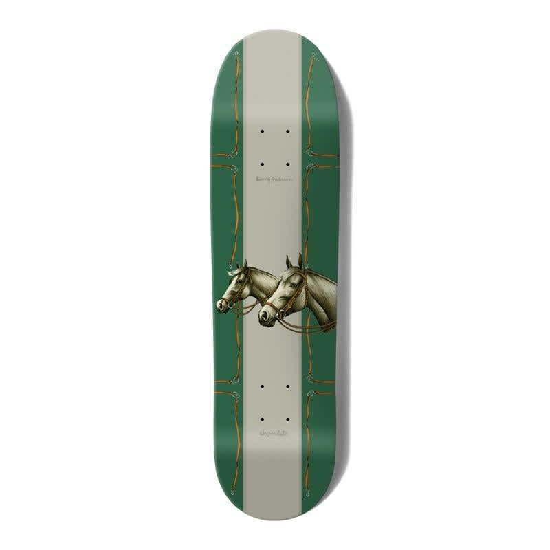 """Chocolate Rancho One Off Kenny Anderson Skidul Skateboard Deck 8.5"""" 