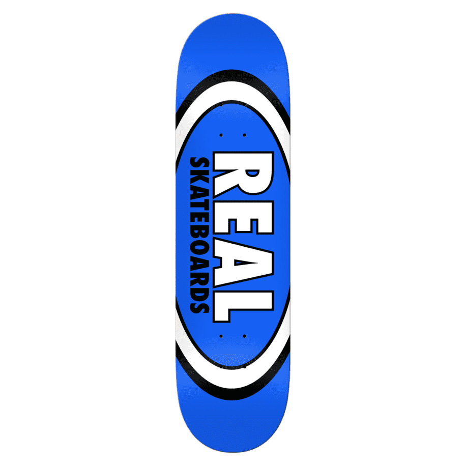 """Real - 8.5"""" Classic Oval   Deck by Real Skateboards 1"""