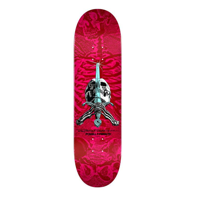 """Powell Peralta Skull and Sword 8.5"""" Deck 