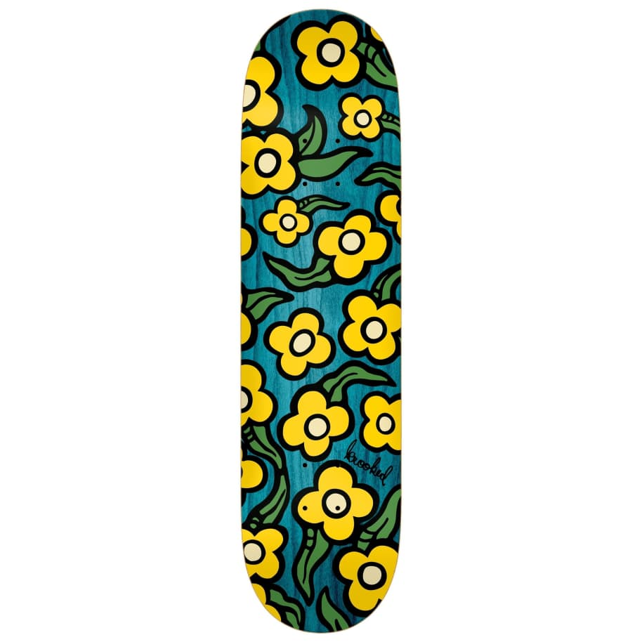 Krooked Deck Wild Style Flowers 7.75"