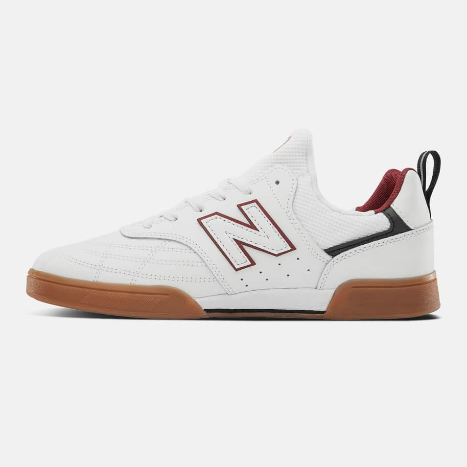 New Balance Numeric 288 Sport Skate Shoe - White / Red | Shoes by New Balance 3
