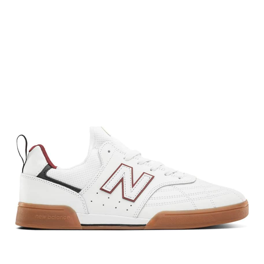 New Balance Numeric 288 Sport Skate Shoe - White / Red | Shoes by New Balance 1