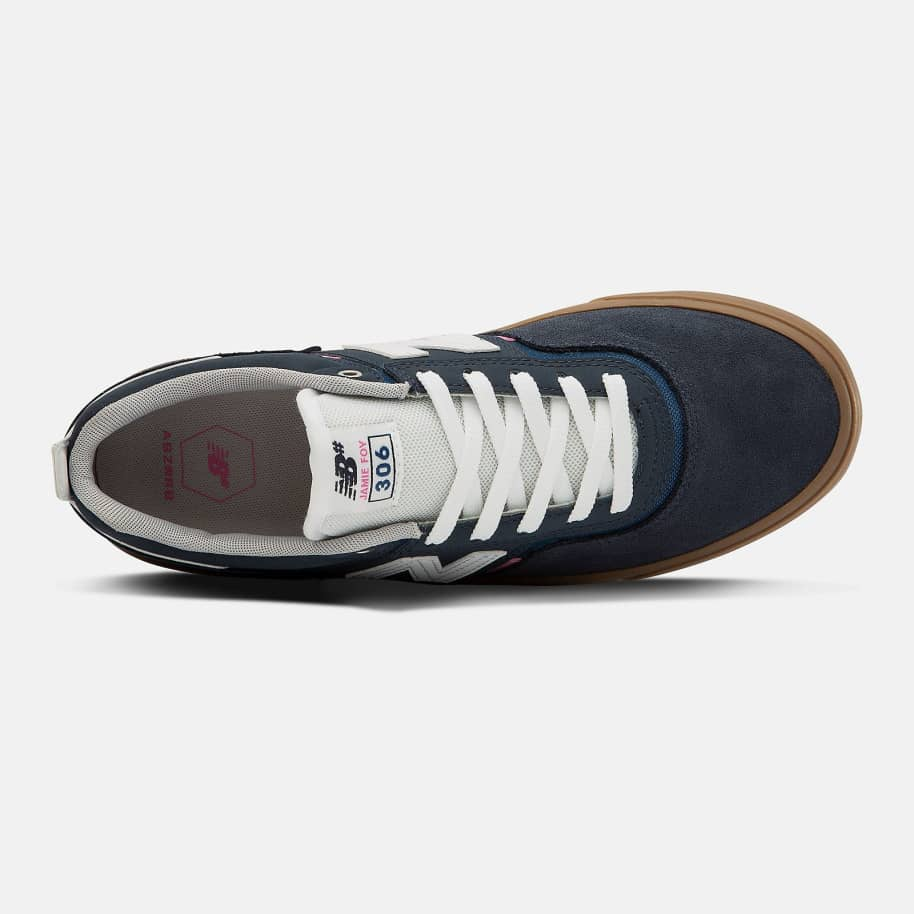 New Balance Numeric 306 Shoes - Navy / Pink | Shoes by New Balance 2