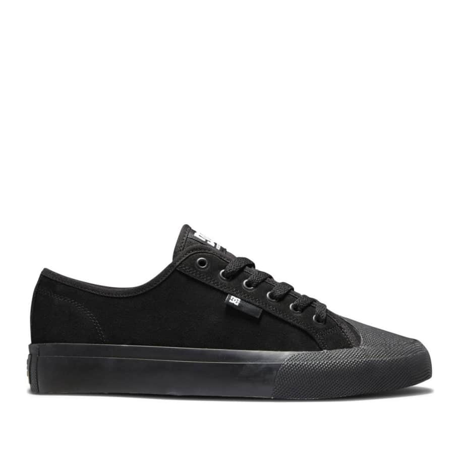 DC Manual S Suede Skate Shoes - Black | Shoes by DC Shoes 1