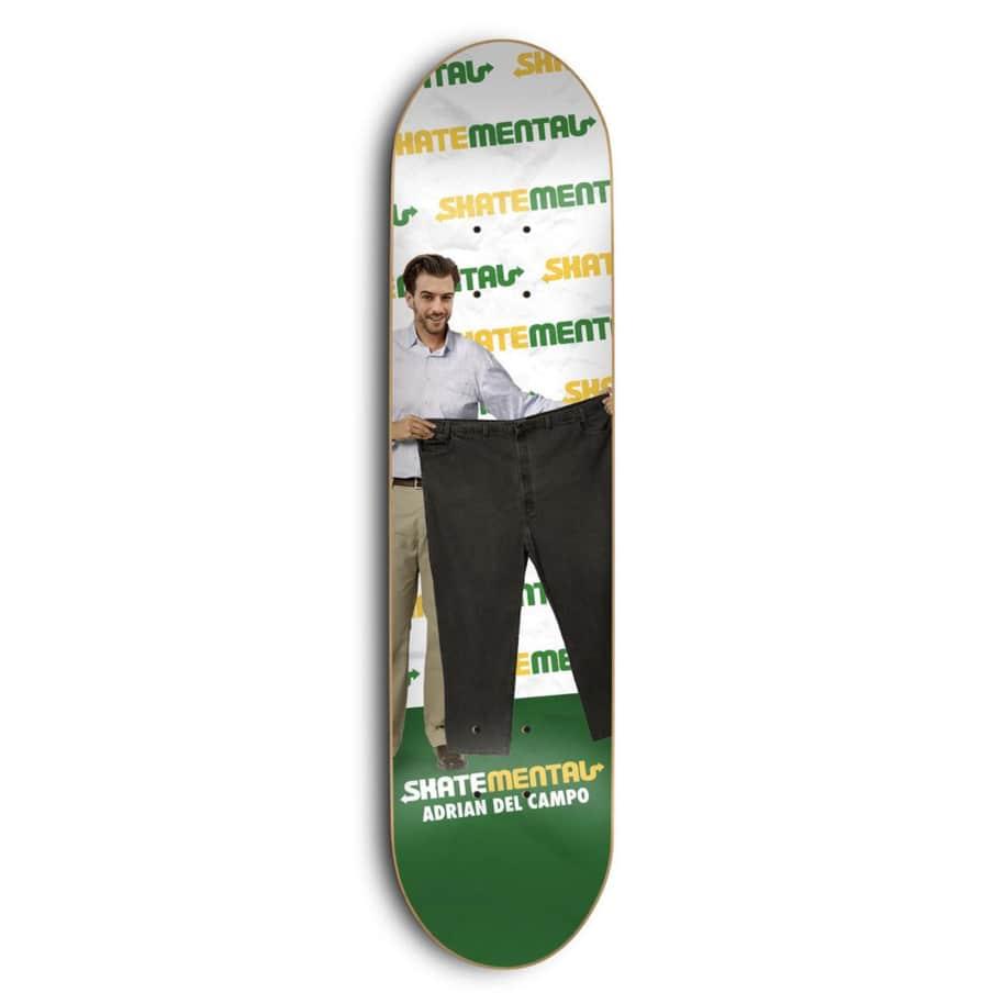 Skate Mental Delpantso Deck 8.0 | Deck by Skate Mental 1