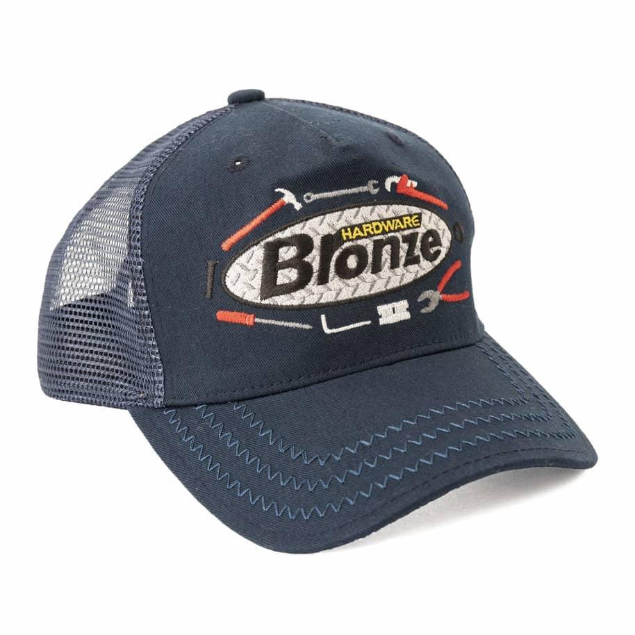 Bronze 56k Tool Time Trucker Hat - Navy | Trucker Cap by Bronze 56k 1