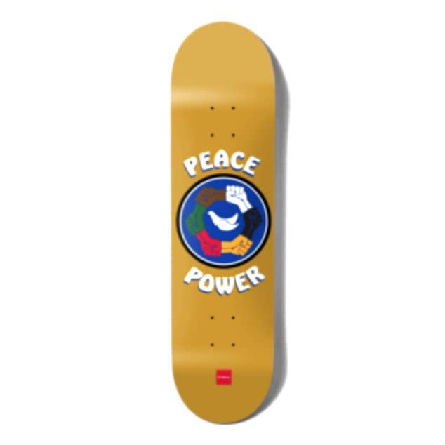 Peace Power (Kenny Anderson) Deck   Deck by Chocolate Skateboards 1