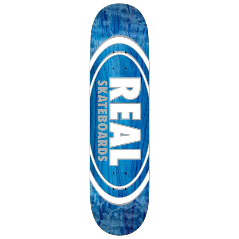 Real Oval Pearl Patterns Deck 7.75"