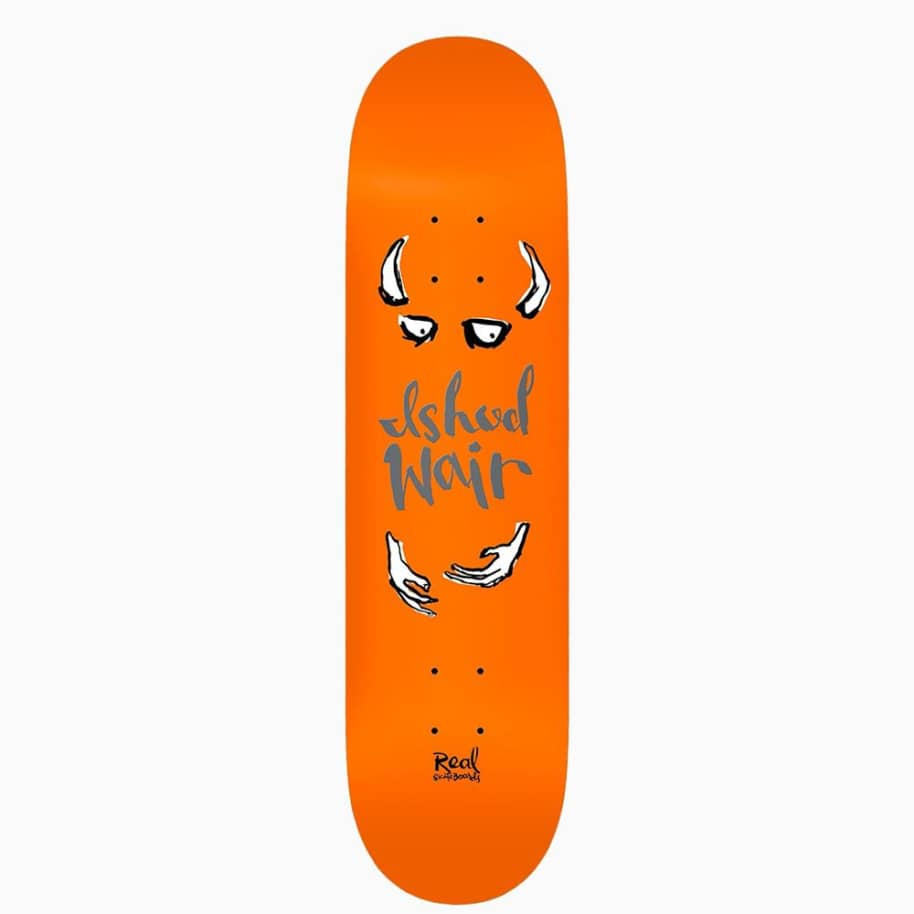 """Real Ishod By Natas Skateboard Deck - 8.06"""" 