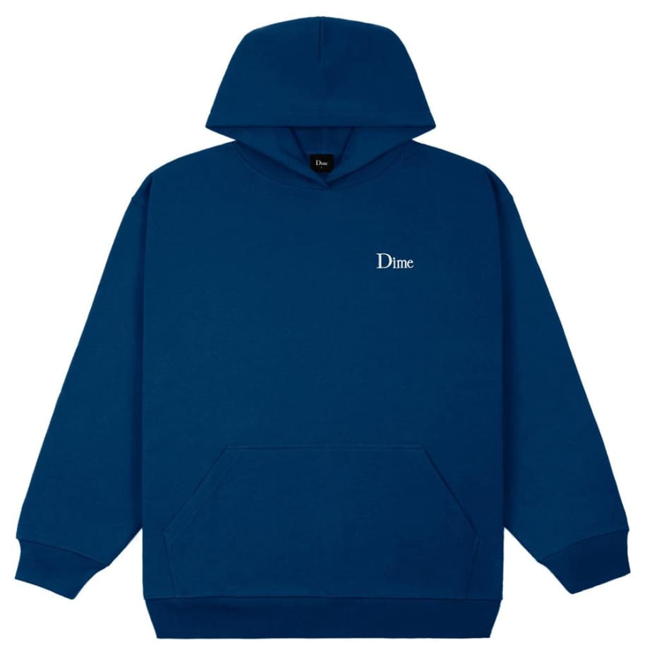 Dime Classic Small Logo Hoodie - Navy | Hoodie by Dime 1