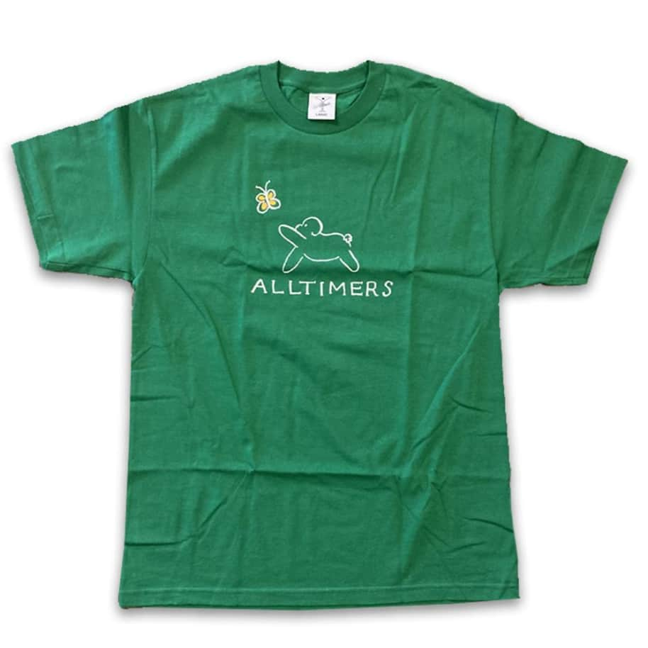 DON'T TAG Alltimers Claire Dog T-Shirt - Kelly Green | T-Shirt by Alltimers 1