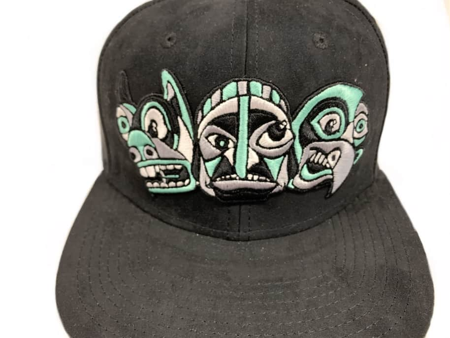 Inovation3 Totem Billy T. Lyons Collab Suede Hat Black | Baseball Cap by Inovation3 2