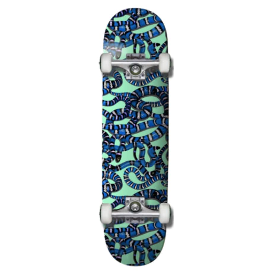 SNAKE EYES COMPLETE | Complete Skateboard by Grizzly Griptape 1