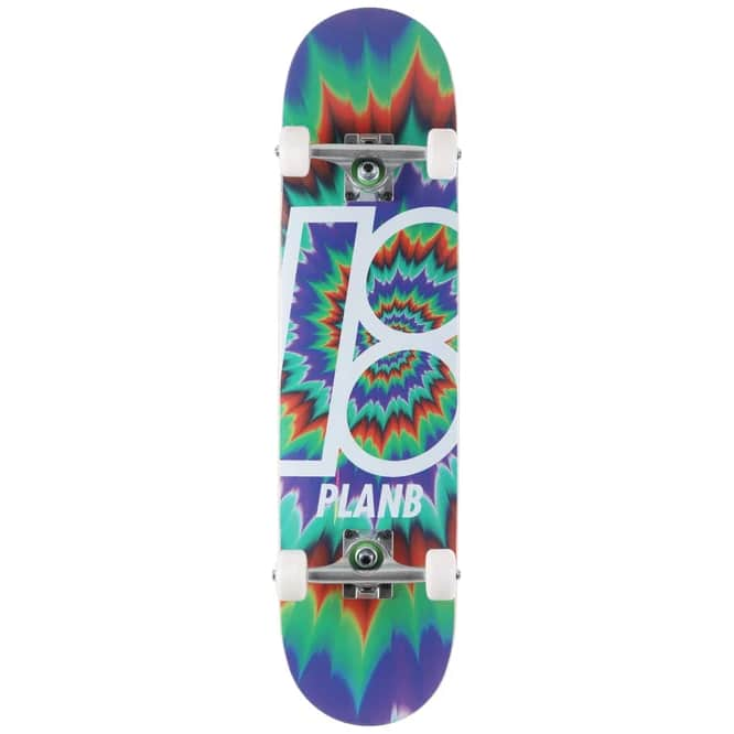 Plan B Team Tune Out Complete   Complete Skateboard by Plan B 1