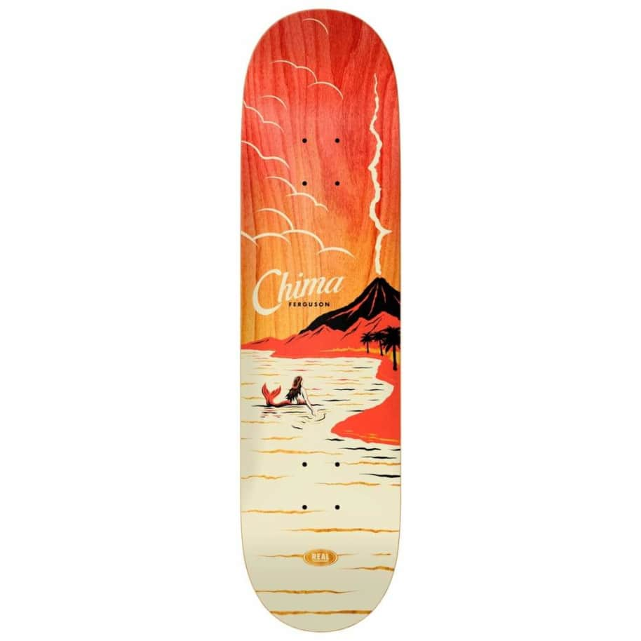 """Real Chima Hot Spot Deck 8.06"""" 