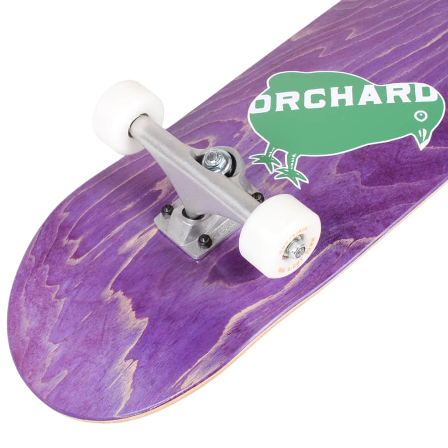Orchard Green Bird Logo Hybrid Complete 7.8 Purple (With Free Skate Tool) | Complete Skateboard by Orchard 3