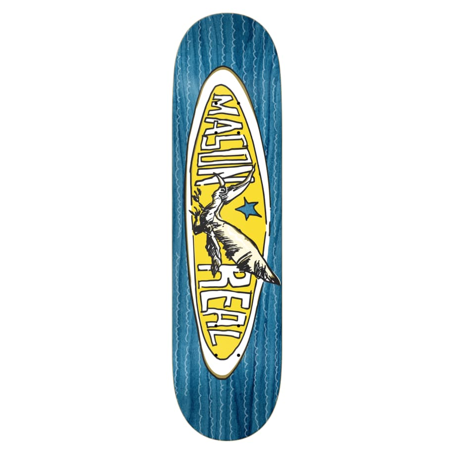 """Real - 8.28"""" Mason Oval   Deck by Real Skateboards 1"""