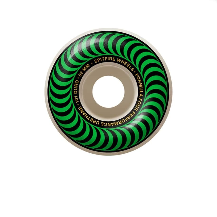 Spitfire Formula Four Classic Swirl 101A - 52mm | Wheels by Spitfire Wheels 1