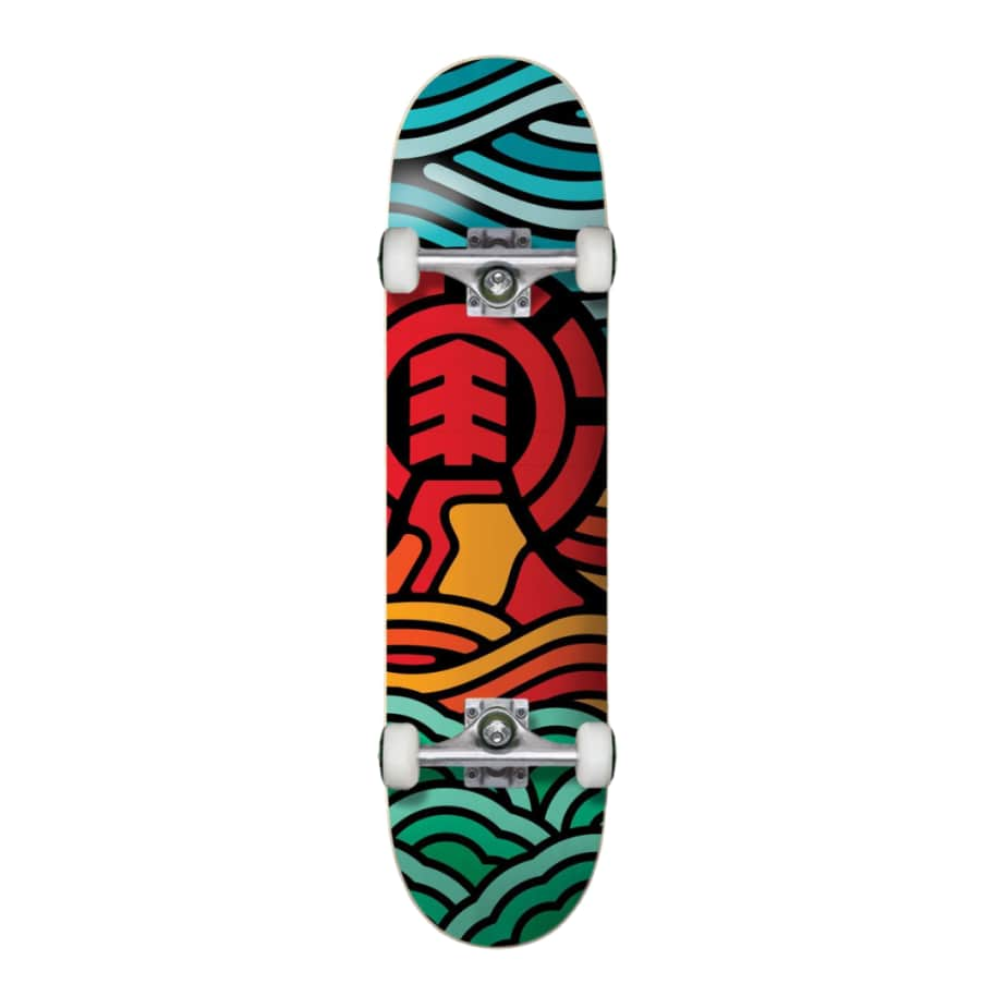 ELEMENT VOLCANIC COMPLETE   Complete Skateboard by Element 1