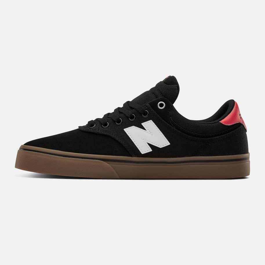 New Balance Numeric 255 Shoes - Black / White | Shoes by New Balance 3