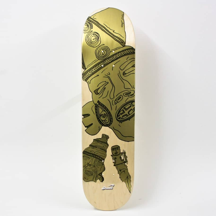 """Snack Cullen Mask Deck 8.0""""   Deck by Snack 1"""