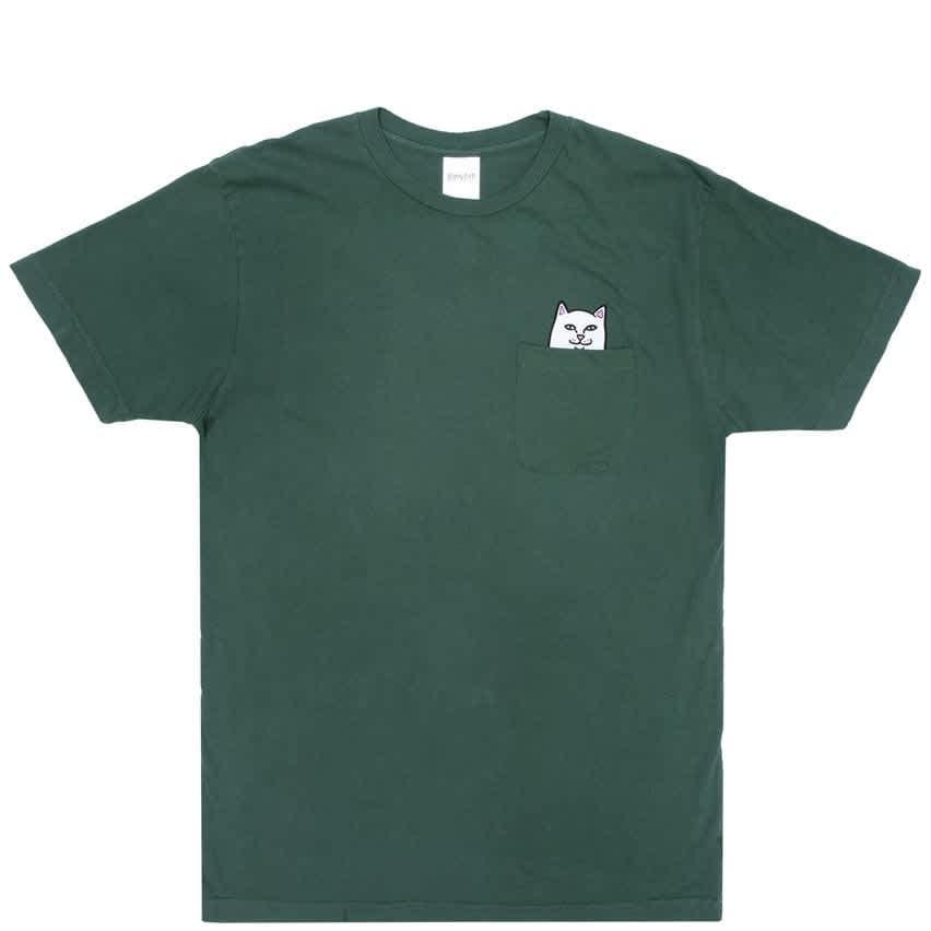 Ripndip Lord Nermal Pocket T-Shirt - Olive | T-Shirt by Ripndip 1