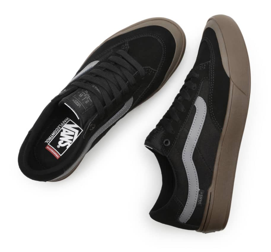 Vans Berle Pro Skate Shoes - Black / Dark Gum | Shoes by Vans 4