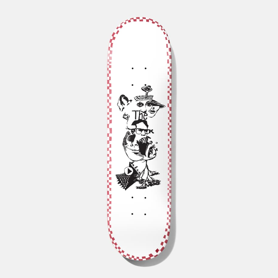 "Baker Kader Daydreams Skateboard Deck - 8.475""   Deck by Baker Skateboards 1"