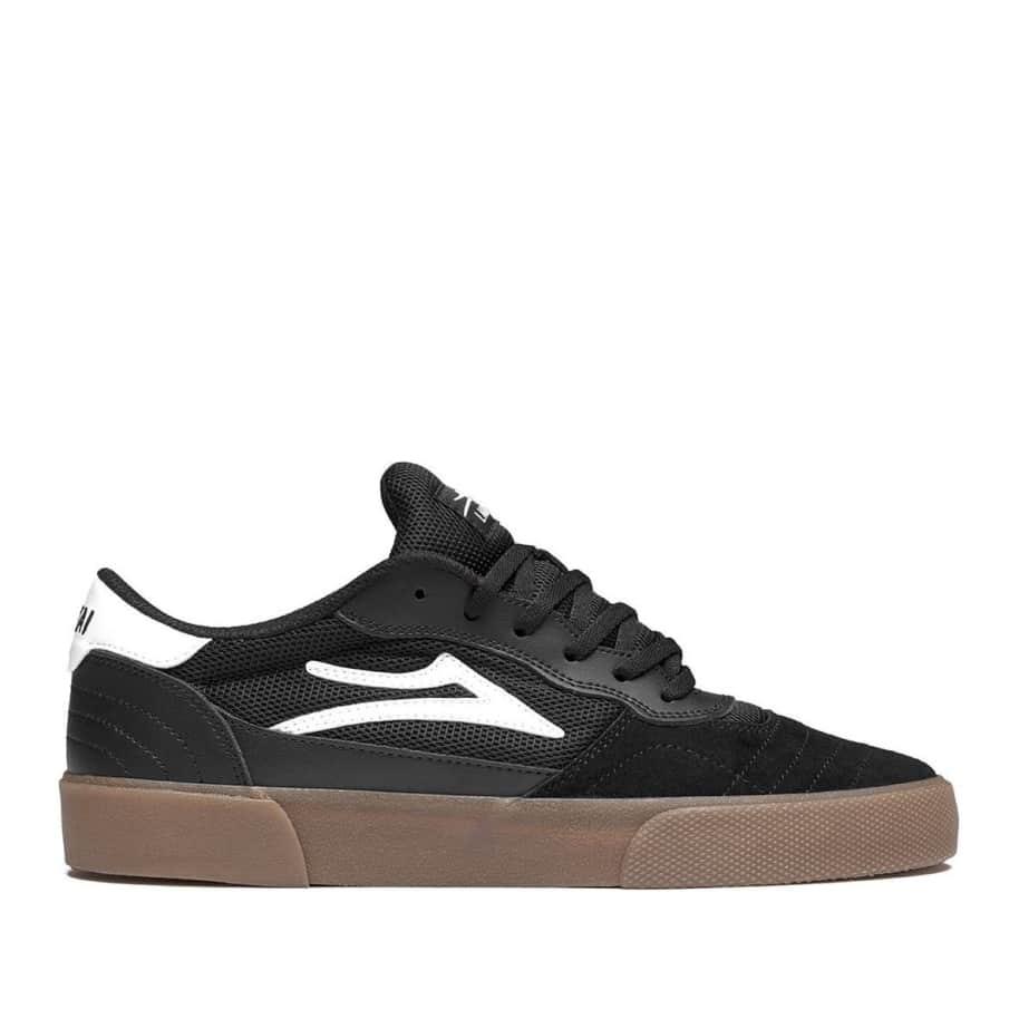 Lakai Cambridge Suede Skate Shoes - Black / Gum | Shoes by Lakai 1
