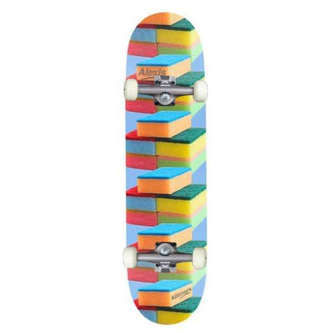 "Alltimers 'Clean Up' Alexis Sablone Complete Skateboard 8""   Complete Skateboard by Alltimers 1"