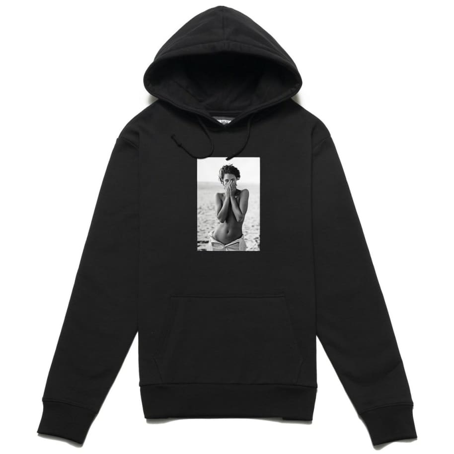 Chrystie NYC Turlington Hoodie - Black | Hoodie by Chrystie NYC 1
