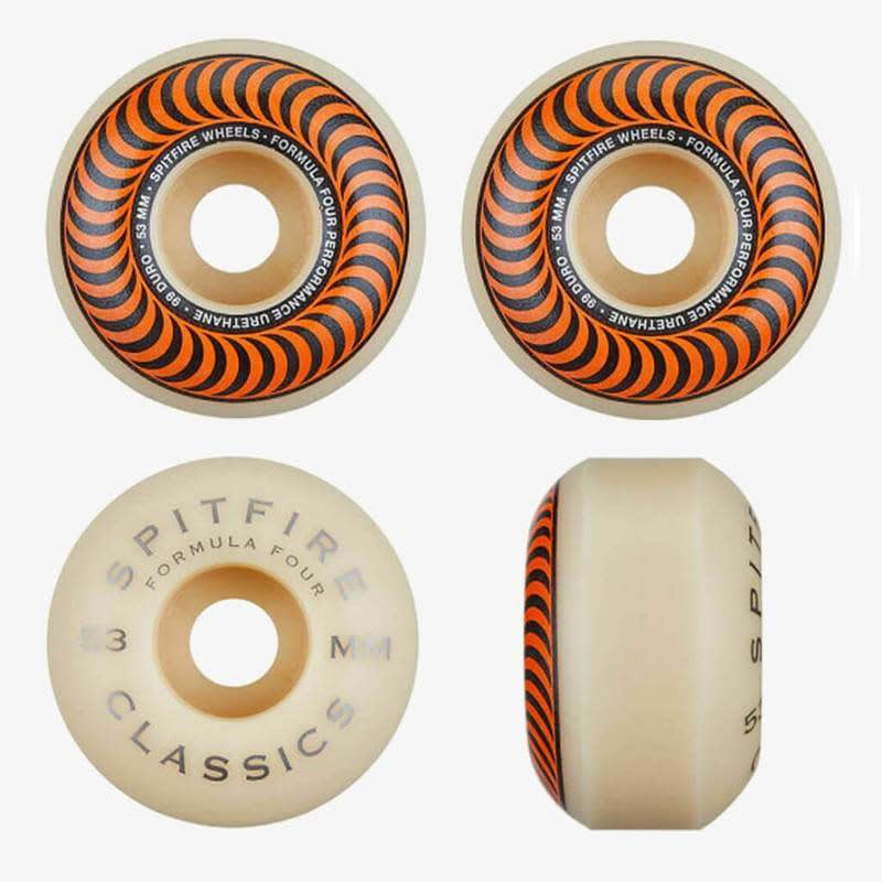 Spitfire Classic F4 Wheel 53mm | Backpack by Spitfire Wheels 1