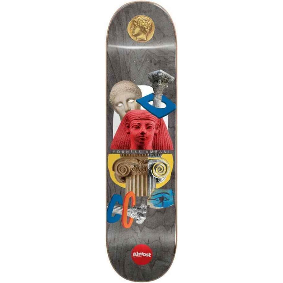 """Youness Amrani Relics Deck 8.5""""   Deck by Almost Skateboards 1"""