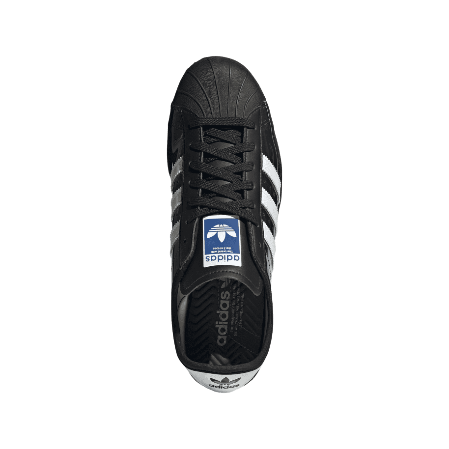 adidas Skateboarding Blondey Superstar Shoes - Core Black / Ftwr White / Core Black | Shoes by adidas Skateboarding 2