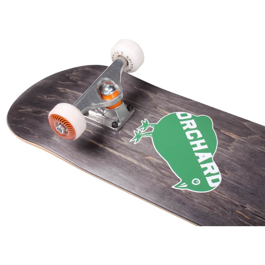 """Orchard Bird Logo Standard Complete 7.87"""" Black (With Free Skate Tool) 